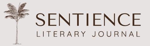 Sentience Literary Journal logo with palm tree